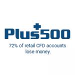 plus500 logo risk warning